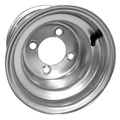 Picture of Wheel, Offset 8x7 Silver Steel