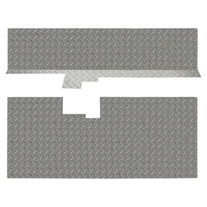 Picture of Club Car DS Diamond Plate Floor Cover