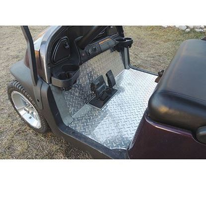 Picture of Club Car Precedent Diamond Plate Floor Cover