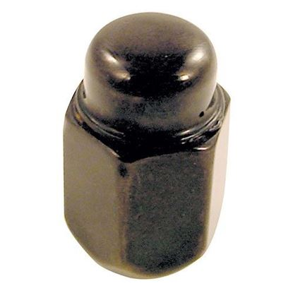Picture of Standard Flat Black Lug Nut (Single) for Club Car & E-Z-Go Wheels