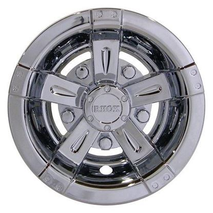 "Picture of 8"" RHOX Vegas Chrome Wheel Cover"