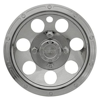 "Picture of Wheel Cover, 10"" RHOX Beadlock Chrome"