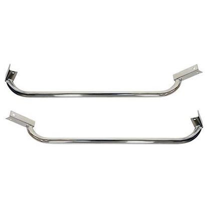 Picture of Club Car DS Stainless Steel Nerf Bars Set of 2