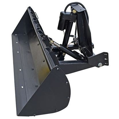Picture of Poly Front Loader Bucket, Club Car Carryall 252