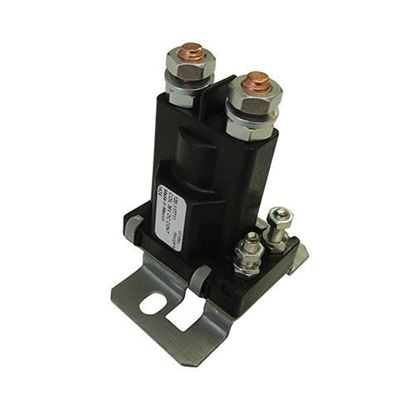 Picture of Solenoid, 36V 4 Terminal Silver, Club Car DS Electric 1988-2005