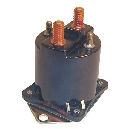Picture of Solenoid, 36V 4 Terminal Copper, Club Car 1988-2000 All V-Glide Models
