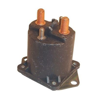 Picture of Solenoid, 48V 4 Terminal Copper, Club Car Electric 1995-1999
