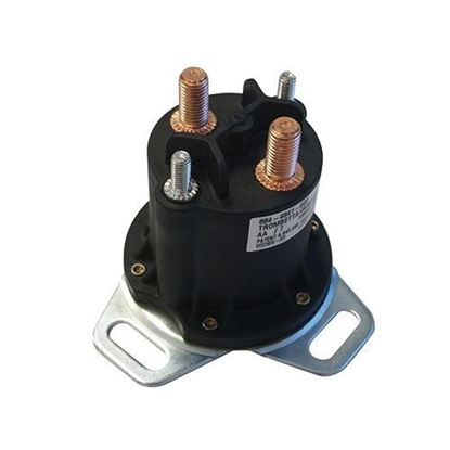 Picture of Solenoid, Heavy Duty, 48V 4 Terminal Copper, Club Car Electric 1995-1999 (Different Footprint)