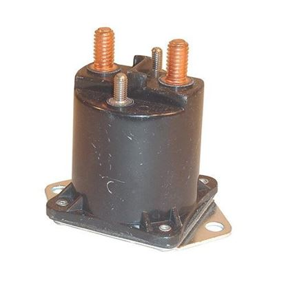 Picture of Solenoid, 12V 4 Terminal Copper, Club Car Gas 1984-Up