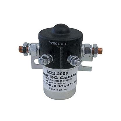 Picture of Solenoid, 48V, 200 Amp