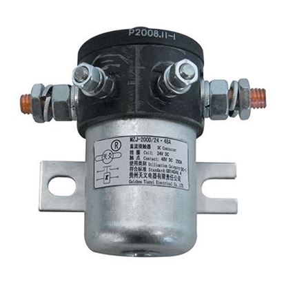 Picture of Solenoid, 24V, 200 Amp