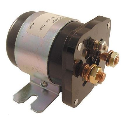 Picture of Solenoid, 36V 4 Terminal Silver, Club Car Electric Industrial