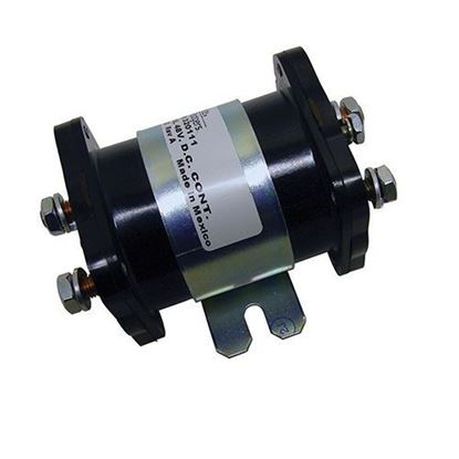 Picture of Solenoid, 48V 6 Terminal, Heavy Duty 200 Amp