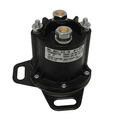 Picture of Solenoid, 36V 4 Terminal, E-Z-Go RXV Electric Curtis Controller