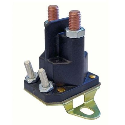 Picture of Solenoid, 12V - 14V 4 Terminal, E-Z-Go RXV Gas Kawasaki Engine