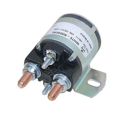 Picture of Solenoid, 12V 4 Terminal Silver, Yamaha G2/G8/G9/G11/G14/G16 4-cycle Gas 1985-2002