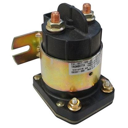 Picture of Solenoid, 48V 4 Terminal, Yamaha Drive 2007-2013