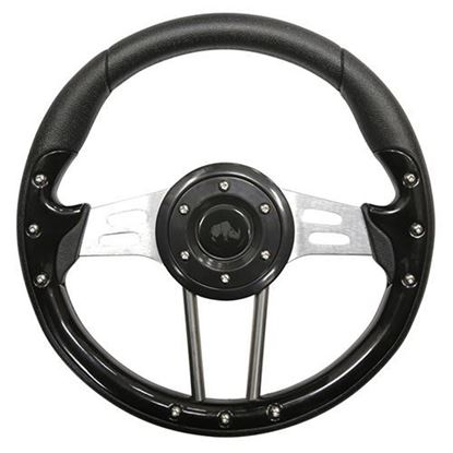 "Picture of 13"" Aviator 4 Steering Wheel - Black"