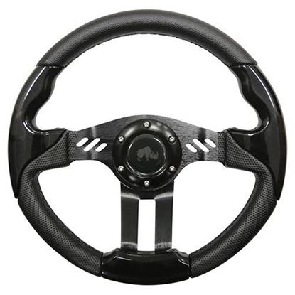 "Picture of 13"" Aviator 5 Steering Wheel - Black"