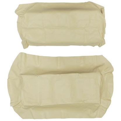 Picture of Cover Set, Buff Vinyl, for Club Car DS 700 Series Rear Seats