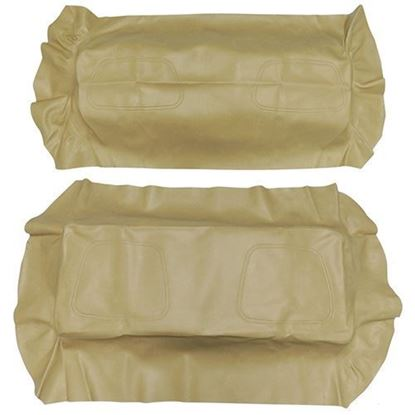 Picture of Cover Set, Tan Vinyl, for Club Car DS 700 Series Rear Seats