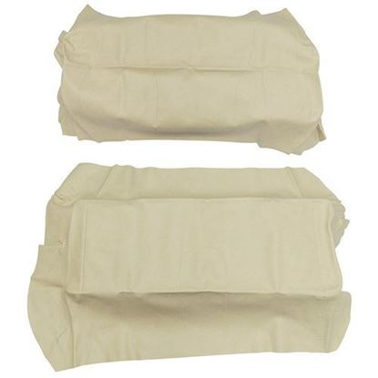 Picture of Cover Set, Beige Vinyl, for Club Car Precedent 700 Series Rear Seats