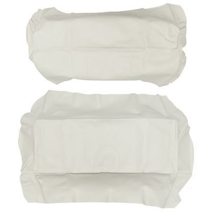 Picture of Cover Set, White Vinyl, for Club Car Precedent 700 Series Rear Seats