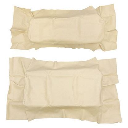 Picture of Cover Set, Buff Vinyl, for Club Car DS 600 Series Rear Seats