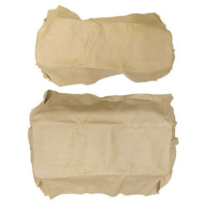 Picture of Cover Set, Tan Vinyl, for Club Car DS 600 Series Rear Seats