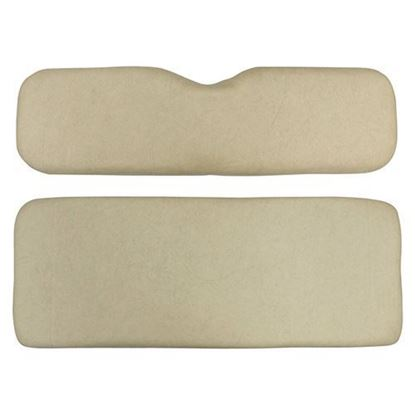 Picture of Cushion Set, Beige Vinyl, Universal Board, for Club Car Precedent 600 Series Rear Seats