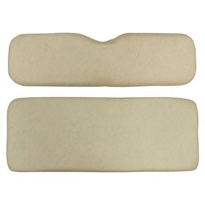 Picture of Cushion Set, Beige Vinyl, Universal Board, for Club Car Precedent 700 Series Rear Seats