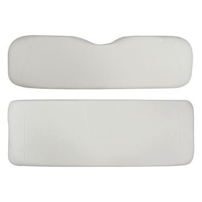 Picture of Cushion Set, White Vinyl, Universal Board, for Club Car Precedent 700 Series Rear Seats