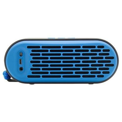 Picture of QUB Three Dual Driver Wireless Bluetooth Speaker, Blue
