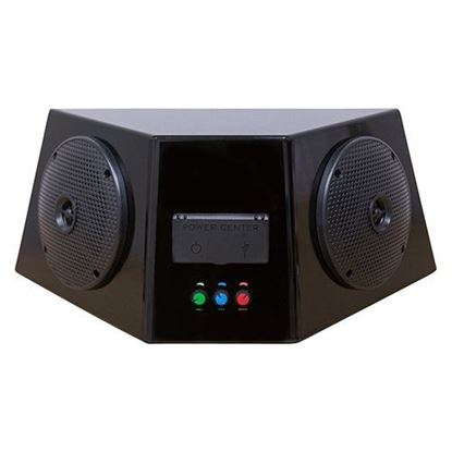 Picture of Universal Audio Center Enclosure with Bluetooth AMP, Power Center and Speakers