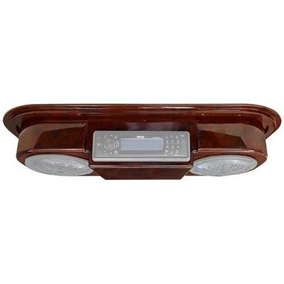 Picture of Universal Woodgrain Radio Console Only