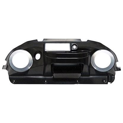 Picture of Paintable ABS Deluxe Dash with Radio Cutout and Speaker Cutouts for Club Car Precedent 2004-2008.5