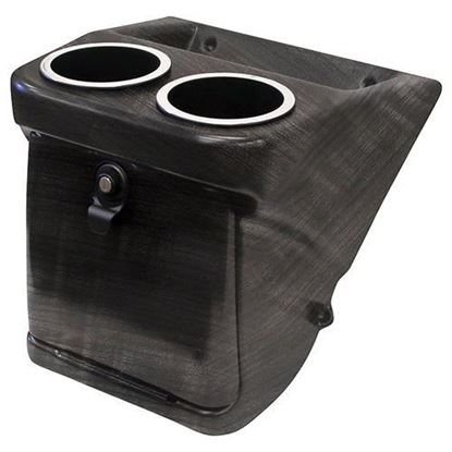 Picture of Grey Wood Console Box for Club Car DS Deluxe Radio/Speaker Dash