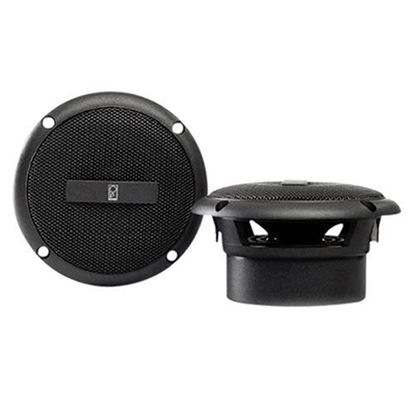"Picture of 3"" Round Poly-Planar 60 Watt Coaxial Water Resistant Speakers Only- Set of 2"