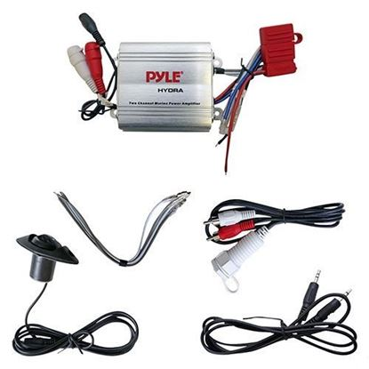 Picture of Amplifier, with Dash Control, 100 Watt, Marine Grade