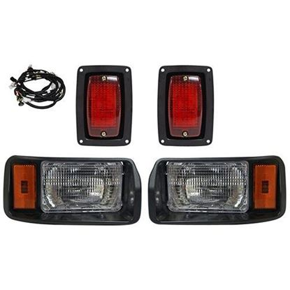 Picture of Club Car DS 1993+ Halogen Factory Style Light Kit with Plug & Play Harness