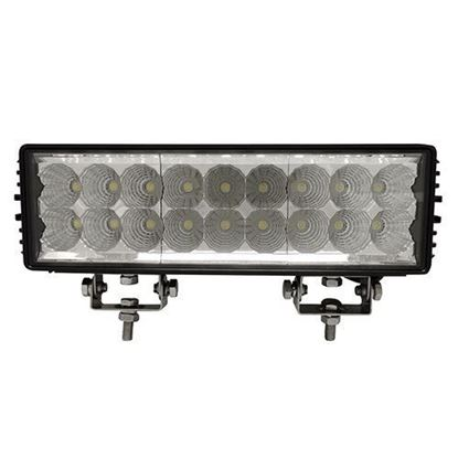 "Picture of Utility Light Bar, LED, 11"", Flood, 12V-24V 54W 4050 Lumen"
