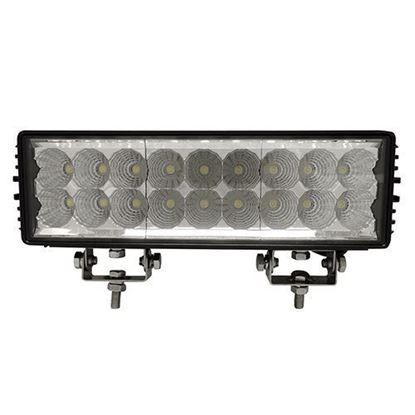 """Picture of Utility Light Bar, LED, 11"""", Flood, 12V-24V 54W 4050 Lumen"""