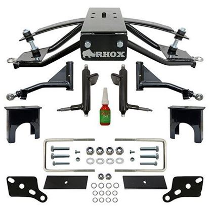 "Picture of RHOX - Club Car Tempo, Precedent Gas & Electric Standard-Duty 4"" A-Arm Lift Kit"