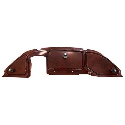 Picture of Woodgrain Three-Door Dash Fits Club Car Precedent 2008.5+