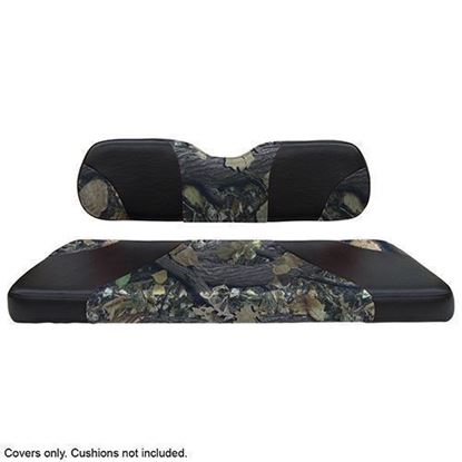 Picture of Seat Cover Set, Front, Sport Black/Camo for Club Car DS 2000-Newer