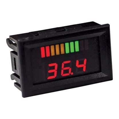 Picture of 36V Horizontal Digital Voltage Display Charge Meter