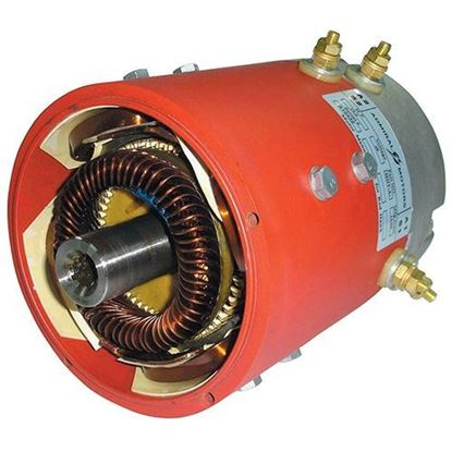 Picture of Motor, High Speed 10 Spline, Club Car