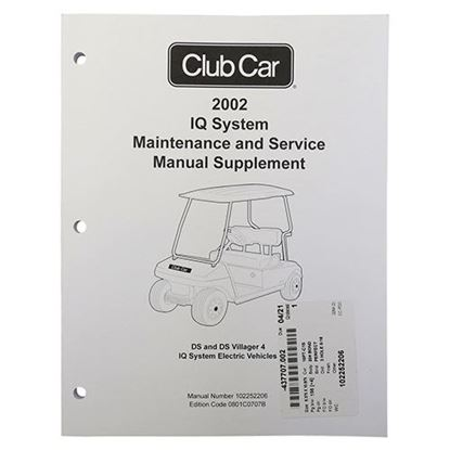 Picture of Maintenance & Service Supplement, Club Car DS IQ 2002