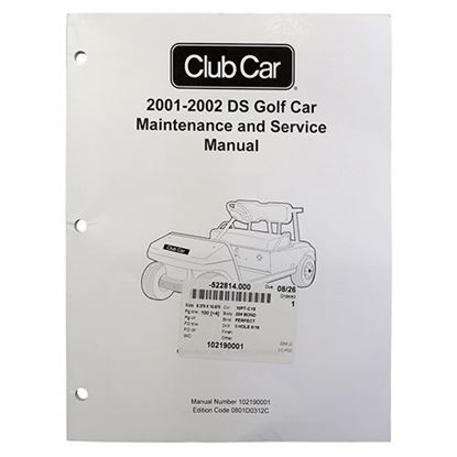Picture of Maintenance & Service Manual, Club Car DS 2001-2002