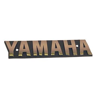 Picture of Name Plate Emblem, Yamaha G16/G19/G20/G21/G22 from 1996-Up, OEM JN6-F4161-01-00